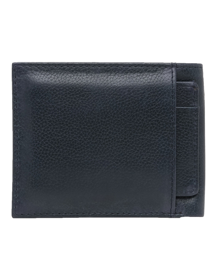 Rfid Bifold W/ Passcase Navy Wallet image 2