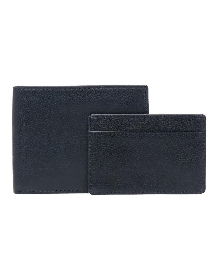 Rfid Bifold W/ Passcase Navy Wallet image 3