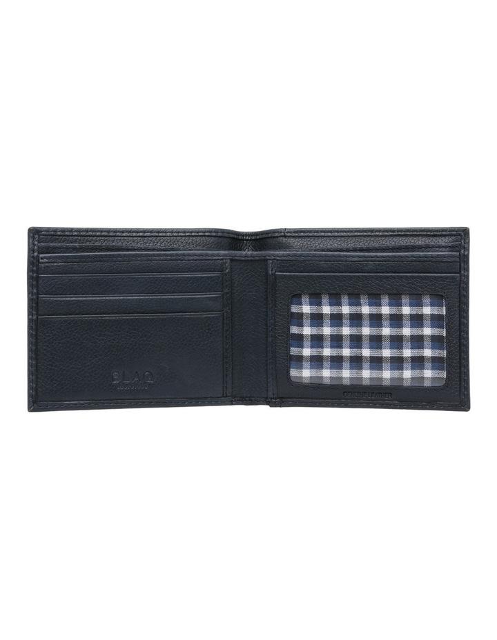 Rfid Bifold W/ Passcase Navy Wallet image 4