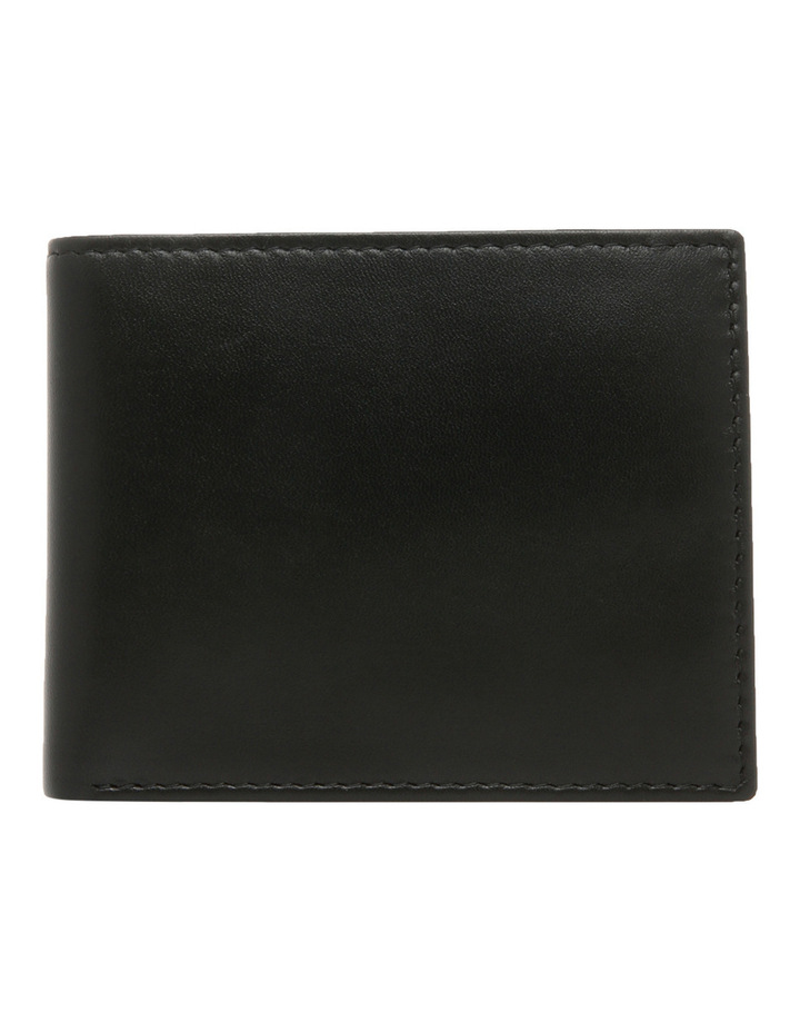 L Fold With Coin Purse Black Wallet image 1