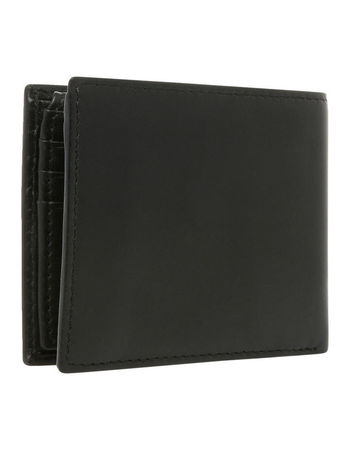 L Fold With Coin Purse Black Wallet image 2