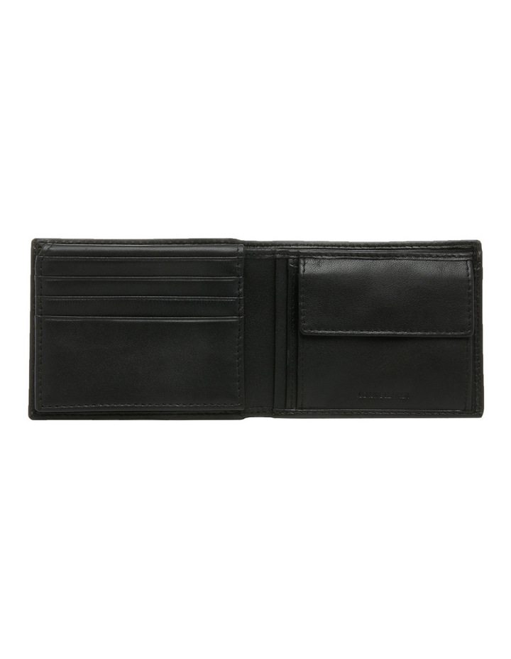 L Fold With Coin Purse Black Wallet image 3