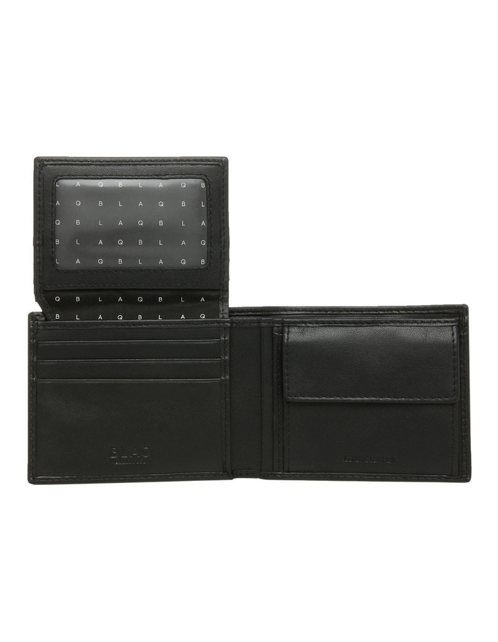 L Fold With Coin Purse Black Wallet image 4