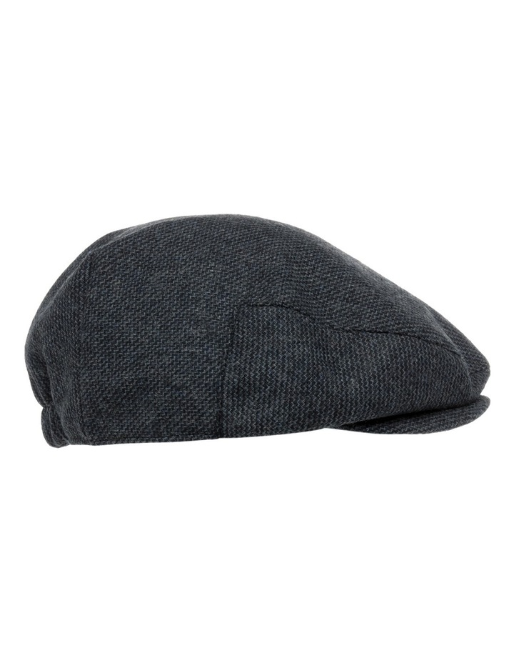 Trent Nathan Textured Navy Driving Cap MMT048 image 2