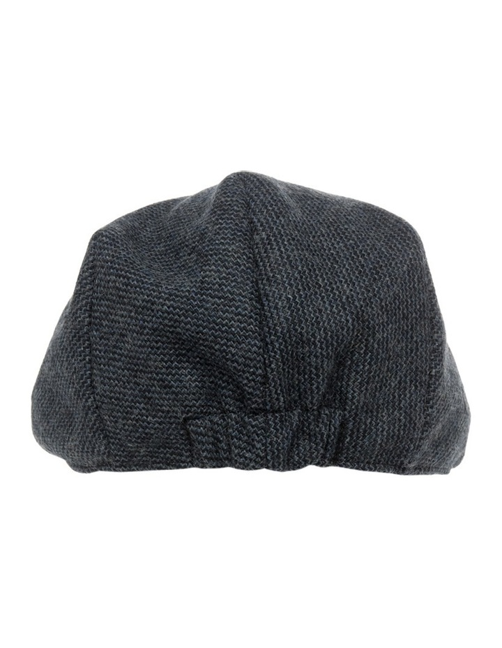 Trent Nathan Textured Navy Driving Cap MMT048 image 3