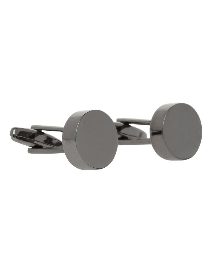Gun Metal Cufflinks image 2