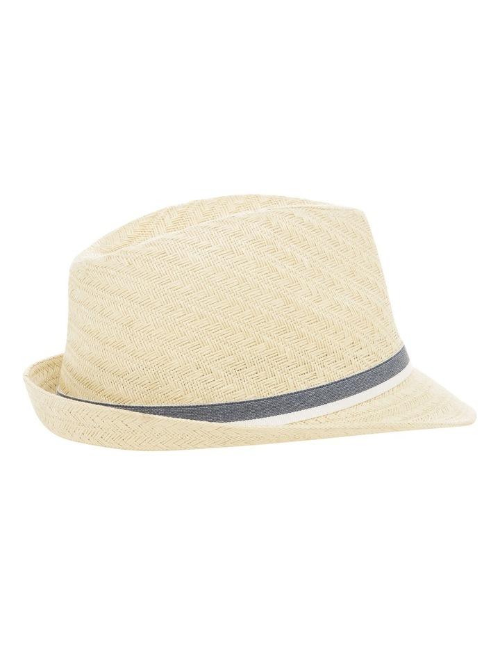 Draper Trilby Natural Hat image 2