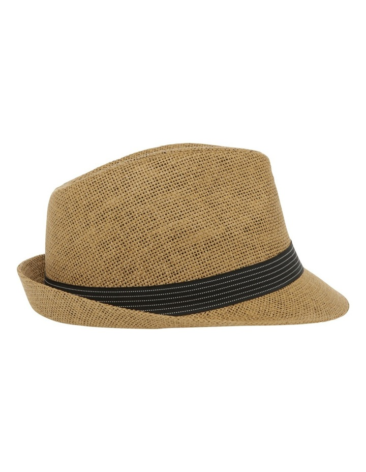 Jett Trilby Natural Hat image 2