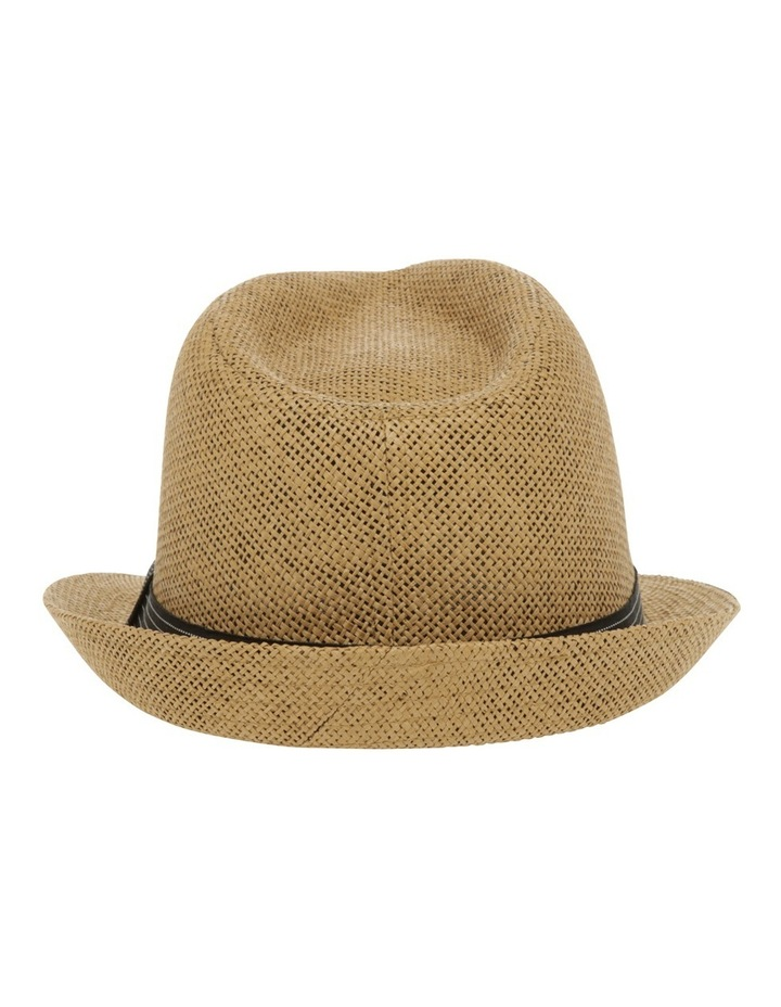 Jett Trilby Natural Hat image 3
