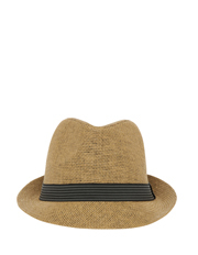 Jett Trilby Natural Hat