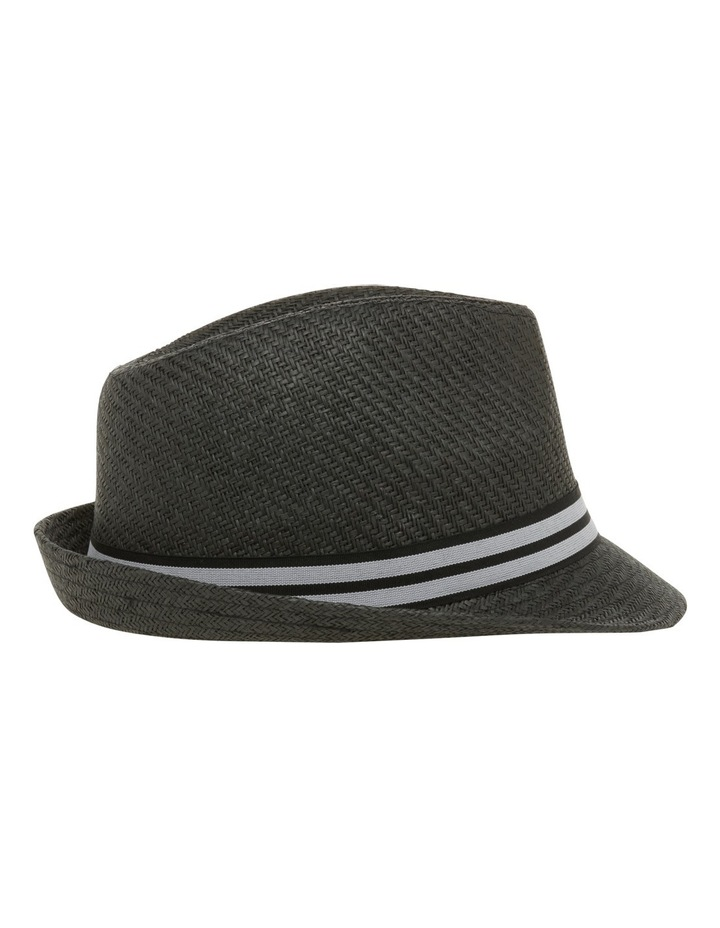 Sterling Trilby Black Hat image 2