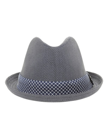 50c113fabc1 Blaq Joey Pork Pie Navy Hat