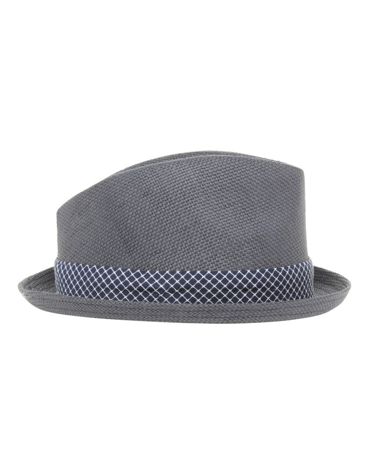 Joey Pork Pie Navy Hat image 2