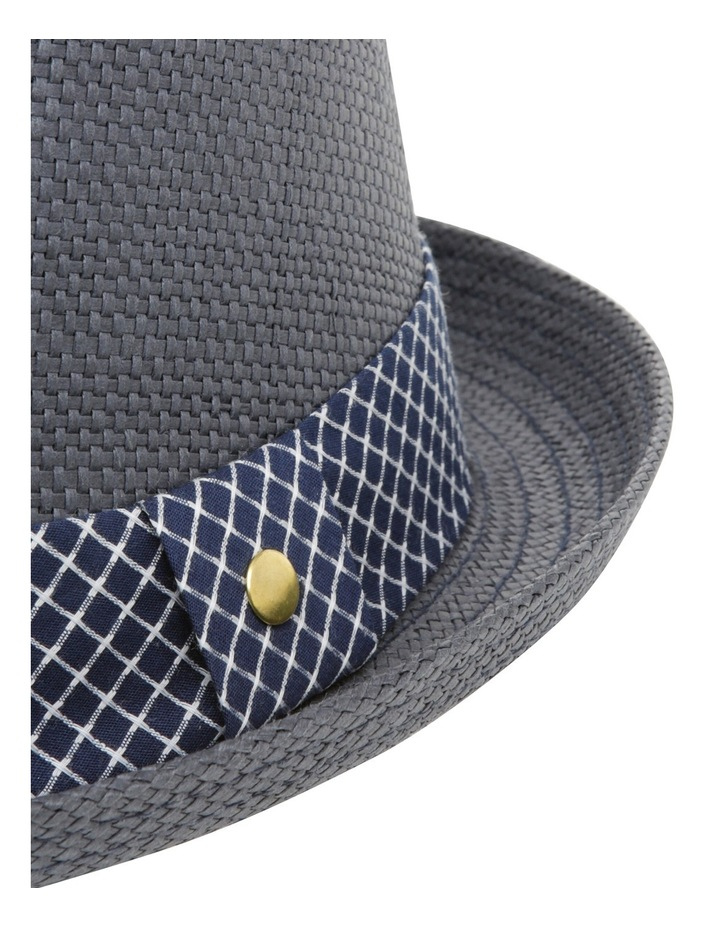 Joey Pork Pie Navy Hat image 4