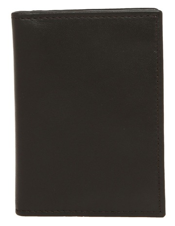 9ef4a8f9 Blaq Leather Booklet Wallet