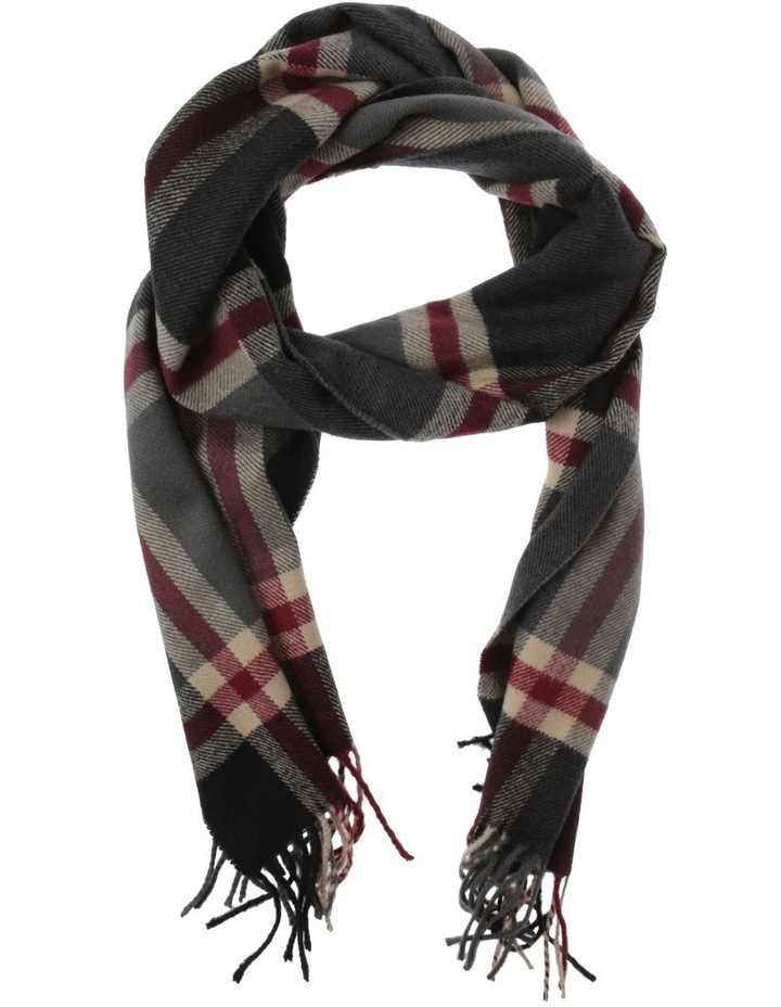 Large Check Scarf image 1
