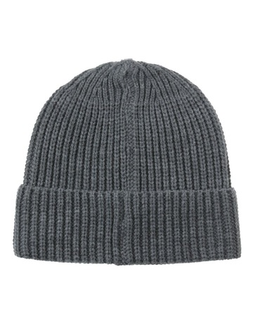 665f798a Blaq Chunky Knit Turn Up Beanie