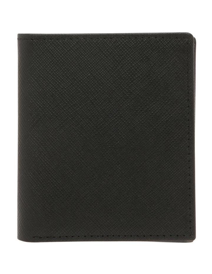Saffiano Booklet Wallet Black/Navy image 1