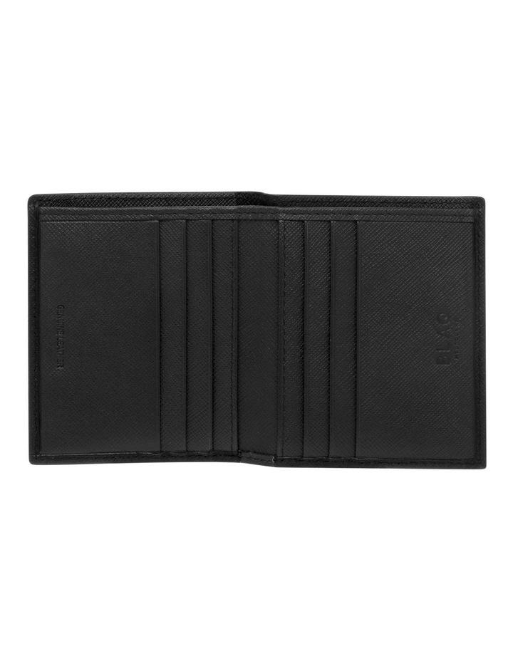 Saffiano Booklet Wallet Black/Navy image 3
