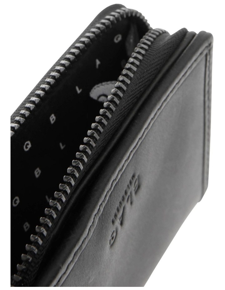 Zip Around Booklet Wallet With Coin Pouch image 4