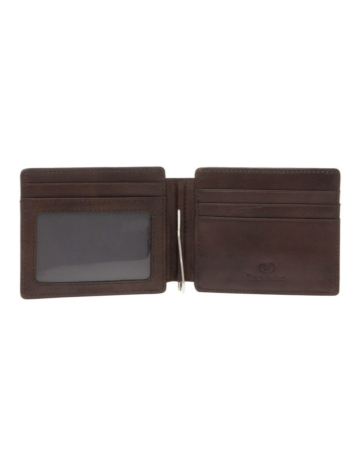 Bifold Wallet With Center Money Clip image 3