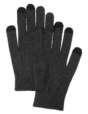 Van Heusen Men Fleece Lined Wool Blend Gloves