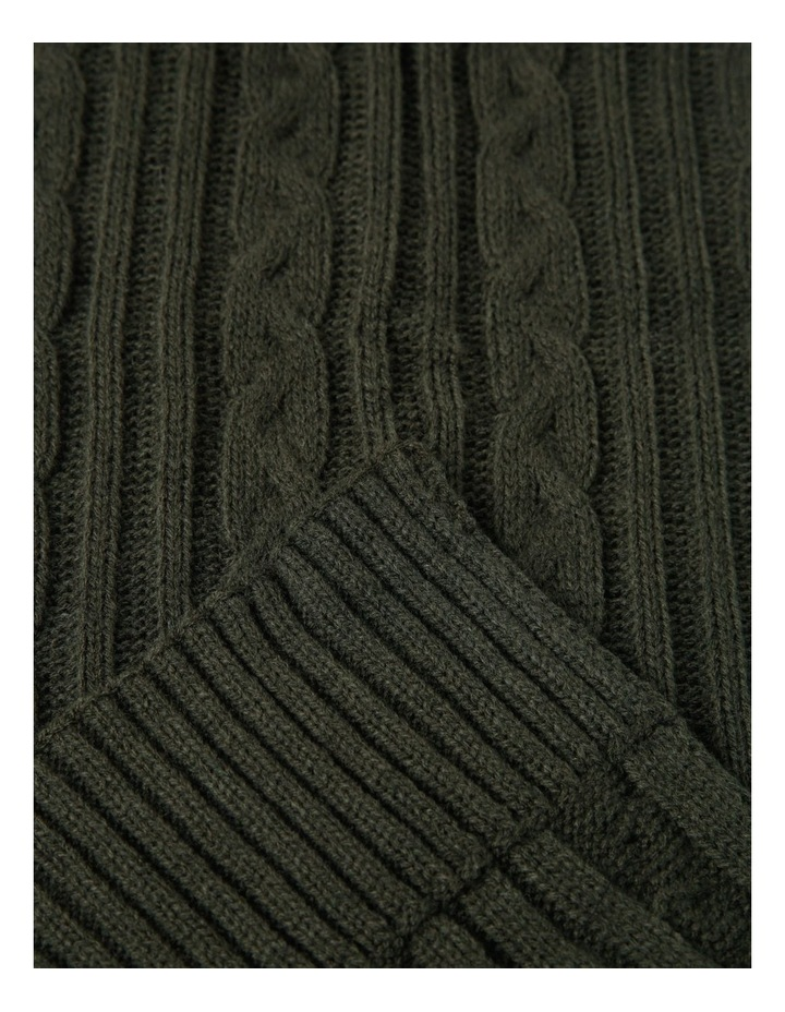 Cable Knit Scarf image 2