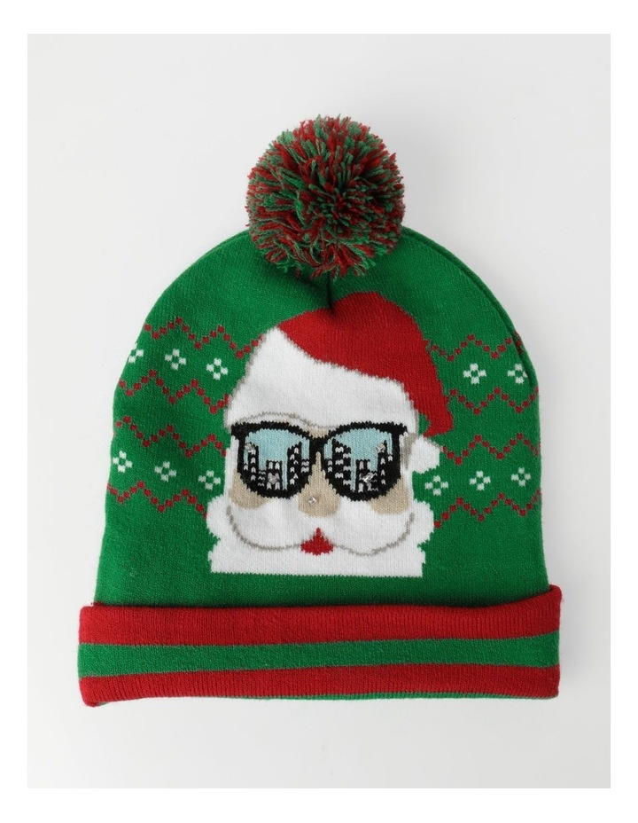 Santa Lights Green Beanie image 1