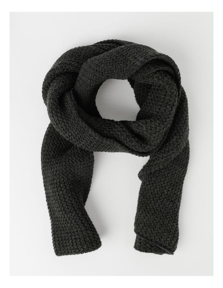 Solid Rib Knit Scarf image 1