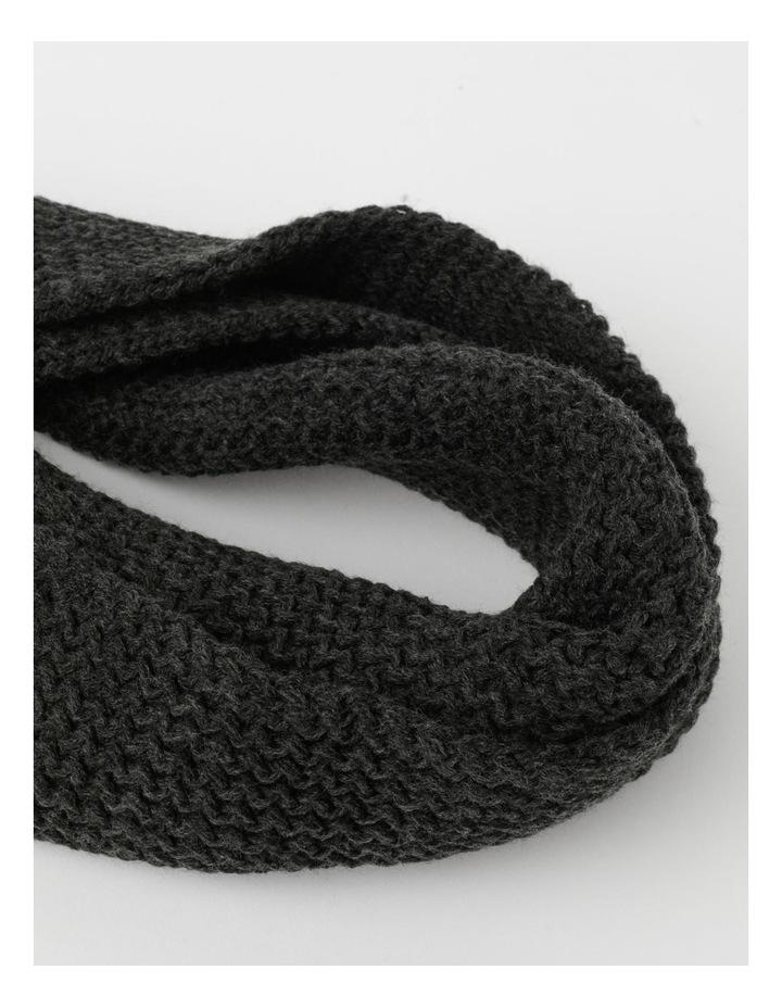 Solid Rib Knit Scarf image 2