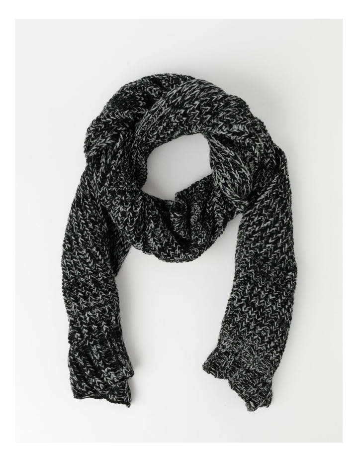 Twisted Rib Knit Scarf image 1