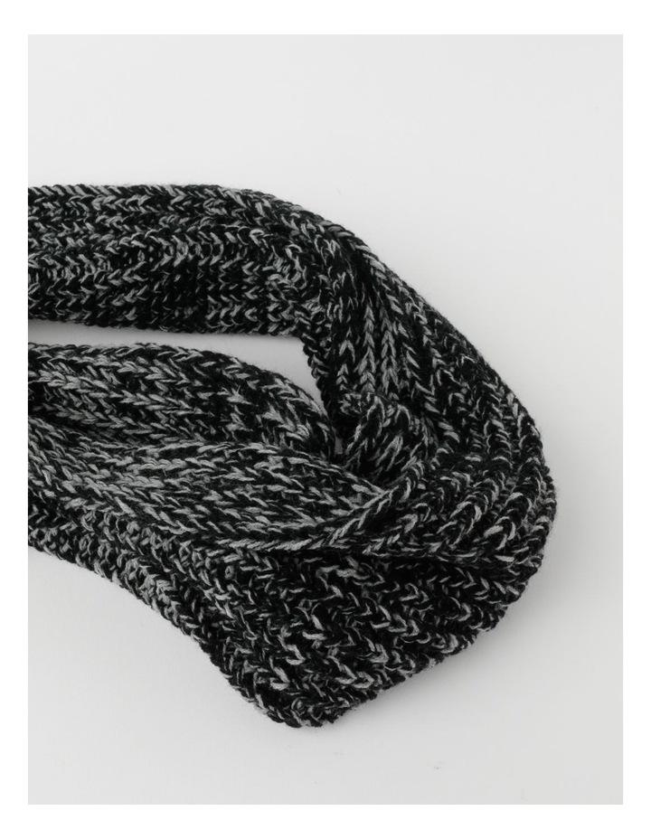 Twisted Rib Knit Scarf image 2