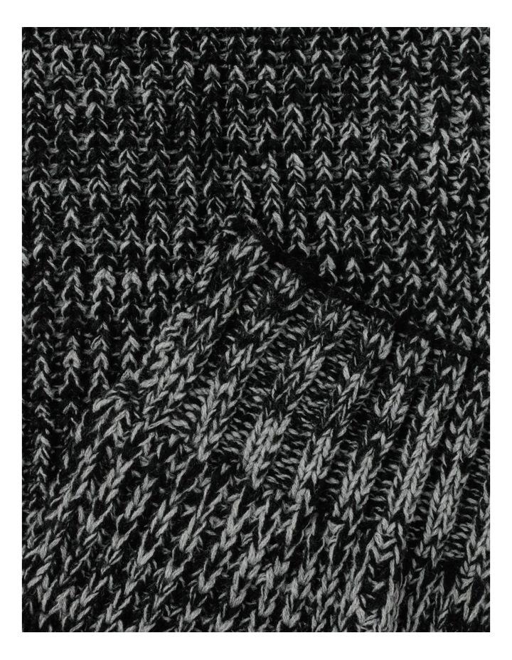 Twisted Rib Knit Scarf image 3
