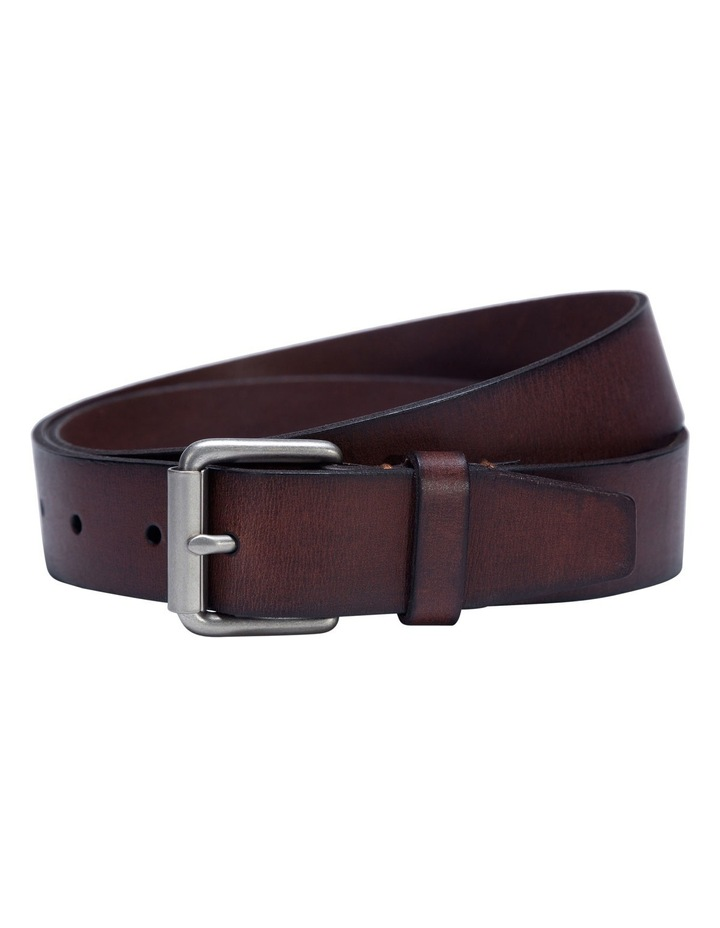 Tan Veg Leather Belt image 2