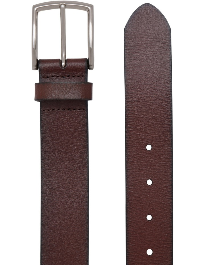 Tan Crossover Pin Buckle Belt image 2