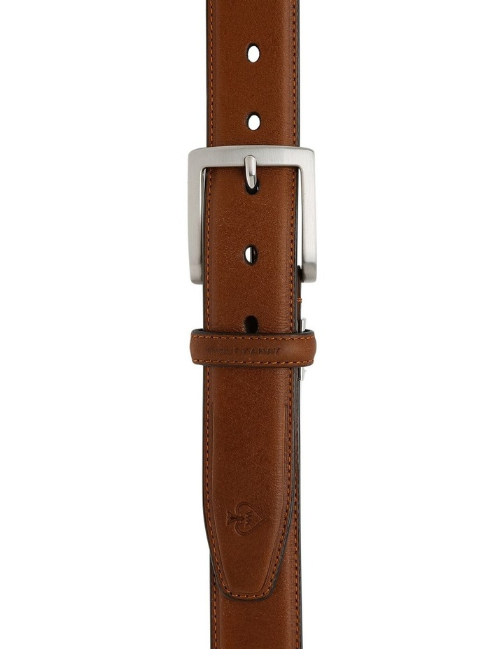 Yanis Tan Full Grain Leather Belt image 1