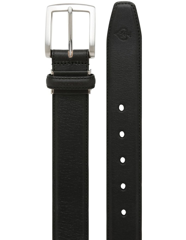 Yanis Black Full Grain Leather Belt image 2