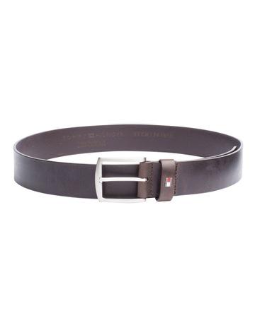 75dfb4fe10 Tommy HilfigerDenton Flag Logo Leather Belt. Tommy Hilfiger Denton Flag  Logo Leather Belt