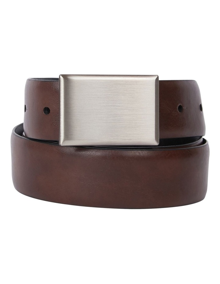 Plate Buckle Reversible Belt image 2