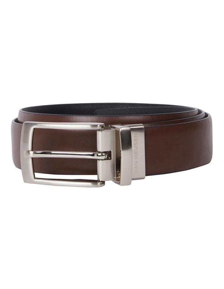 Pin Buckle Saffiano Reversible Belt image 1