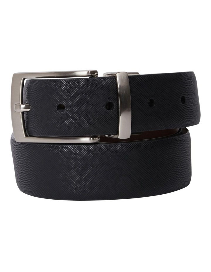 Pin Buckle Saffiano Reversible Belt image 2