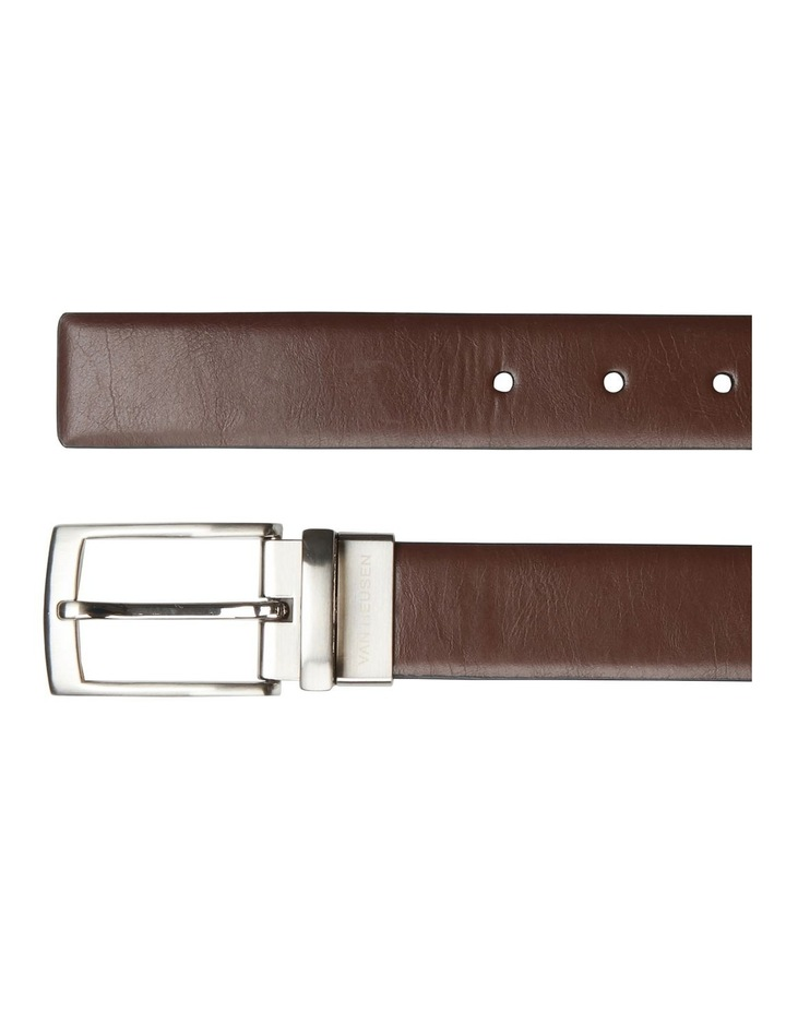 Pin Buckle Saffiano Reversible Belt image 3