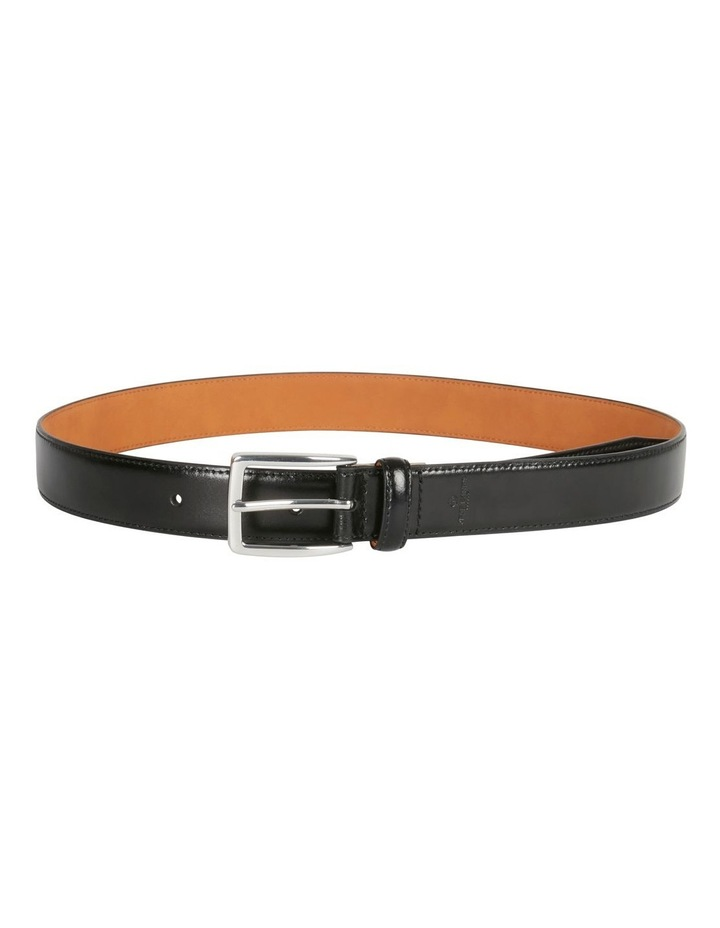 Grid Textured Pin Buckle Belt image 2