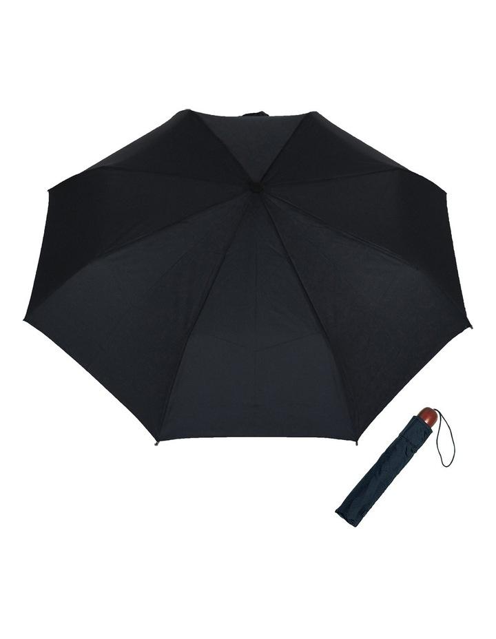 Mini-Maxi Folding Wood Handle Umbrella image 1