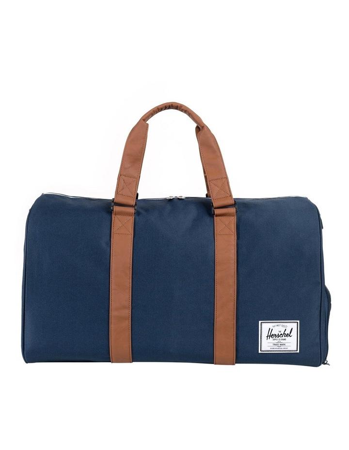 Navy/Tan Novel Duffle Bag image 1