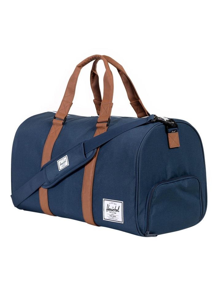 Navy/Tan Novel Duffle Bag image 2