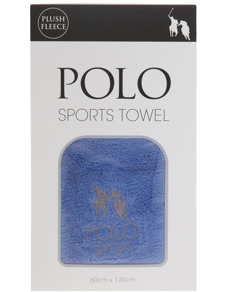 Plush Fleece Sports Towel image 1
