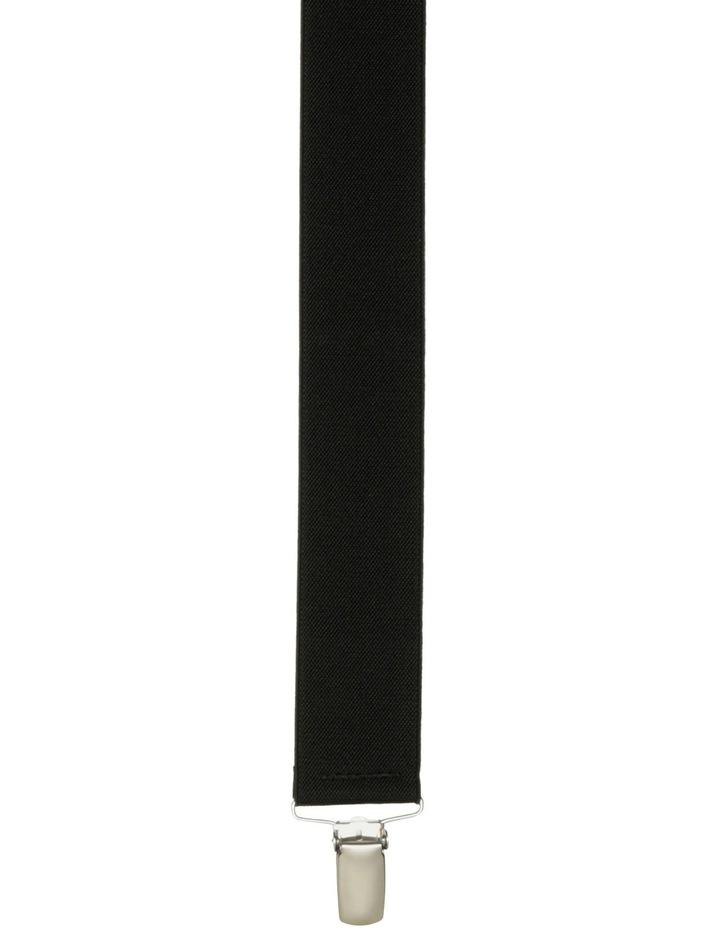 35mm Plain Black Braces image 2