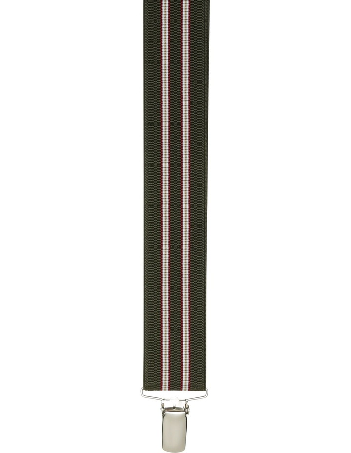 Buckle 35Mm Multi Stripe Braces image 2