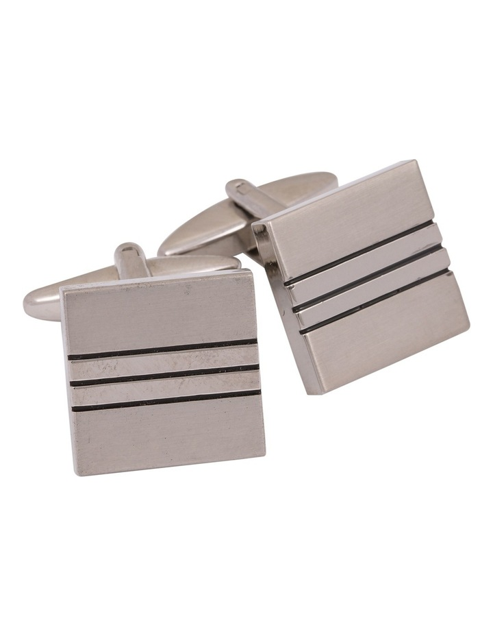 Stripe square Cufflinks image 1